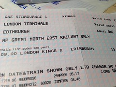 Train | London to Edinburgh