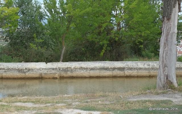 Baños Publicos Romanos Antiguos:Alberca árabe en el paraje de Los Baños