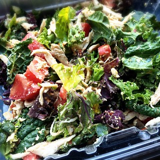 Marinated Kale Chicken Salad