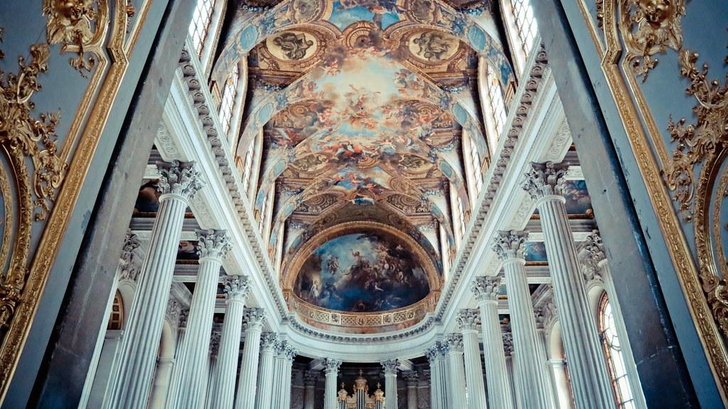 凡爾賽宮 Château de Versailles 皇家禮拜堂 (Royal Chapel)