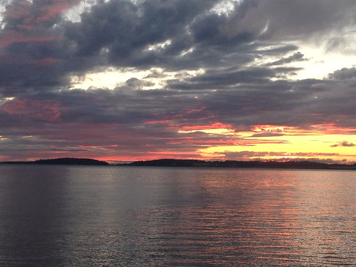 camping sunset clouds whidbeyisland pugetsound
