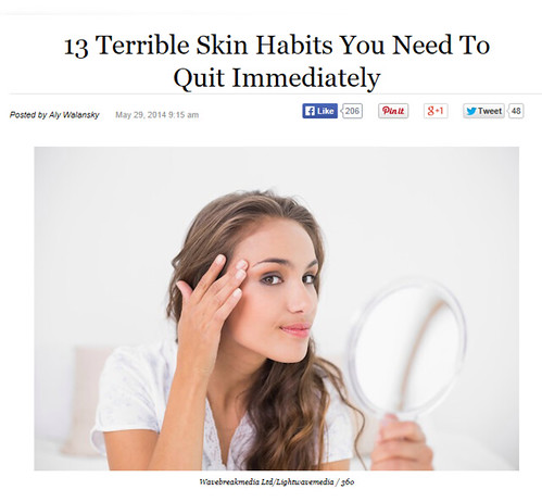 13 Terrible Skin Habits You Need To QuitImmediately