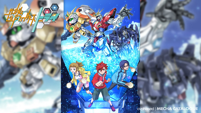 """Gundam Build Fighters Try"" Revealed"