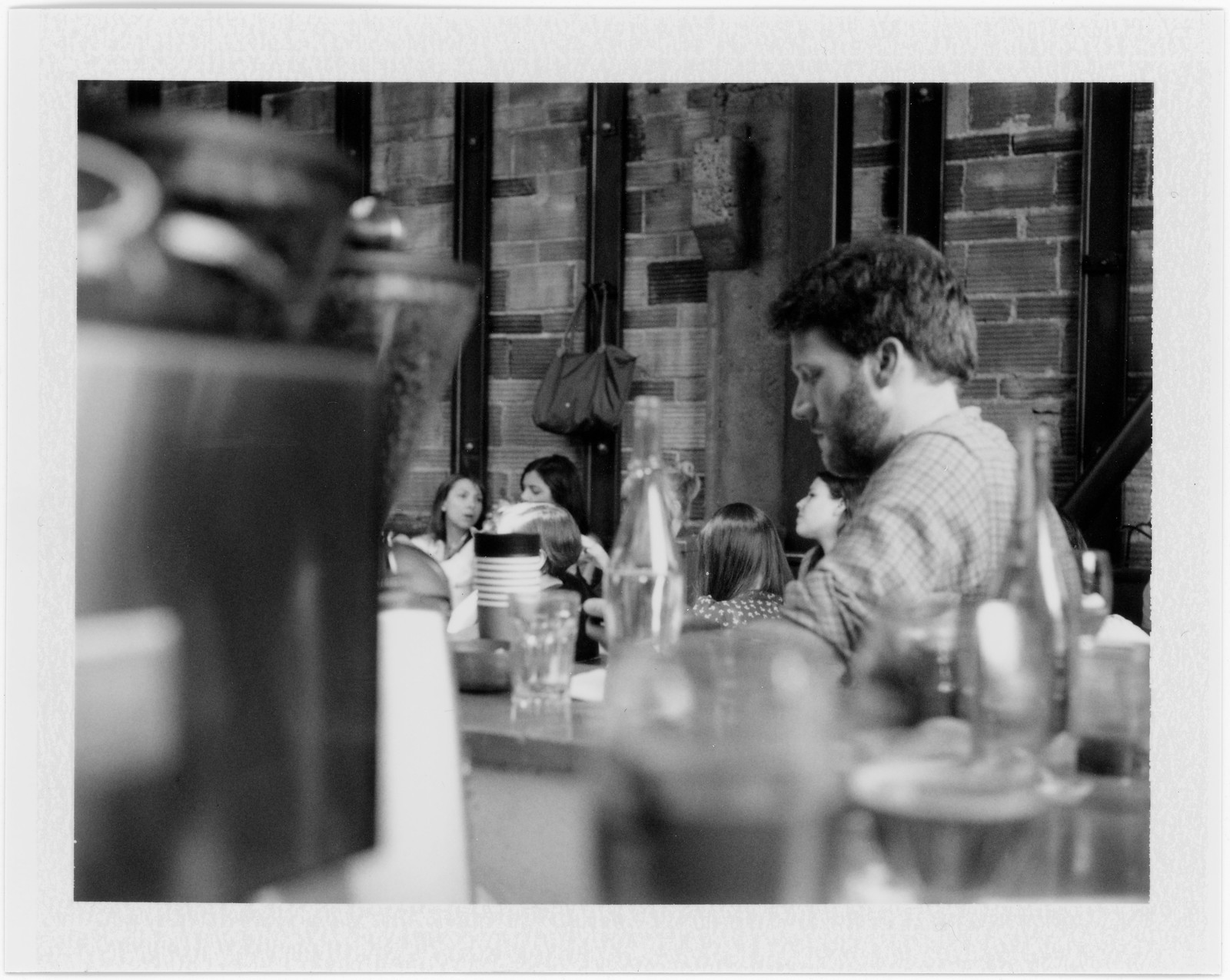 "Image titled ""People at a Café, Seattle."""