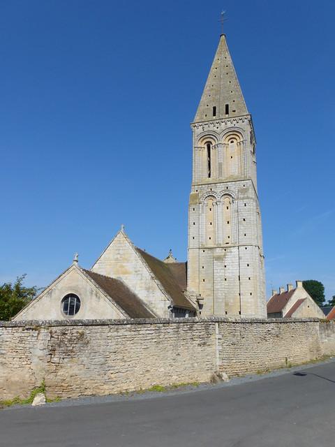 051 L'église Saint-Vigor, Colombiers-sur-Seulles