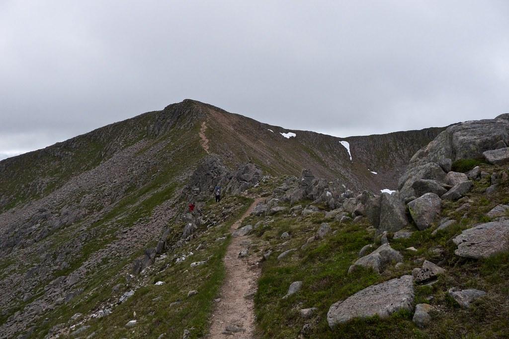 The east ridge of Ben Starav