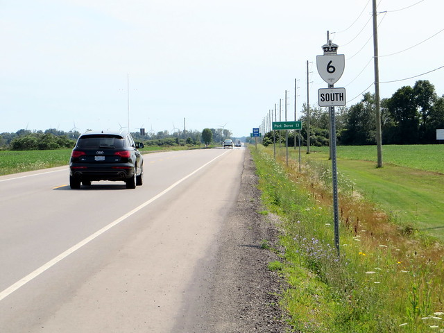 Highway 6 south of Jarvis