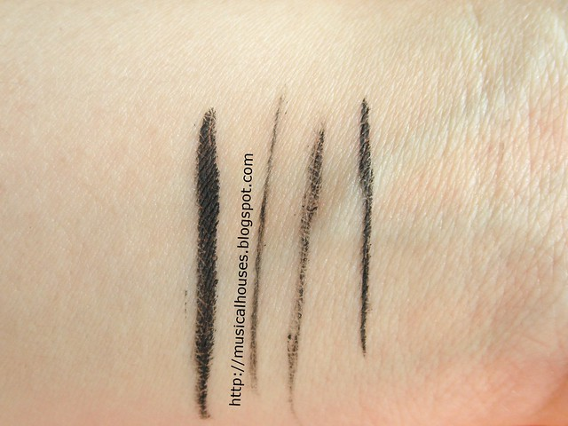 Benefit Theyre Real Push Up Liner Swatch