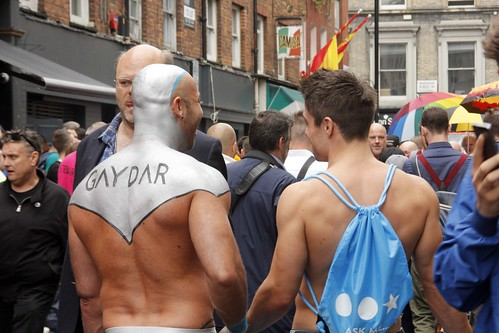 Gaydar - London Pride was on!