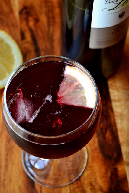 Red Wine Summer Drink