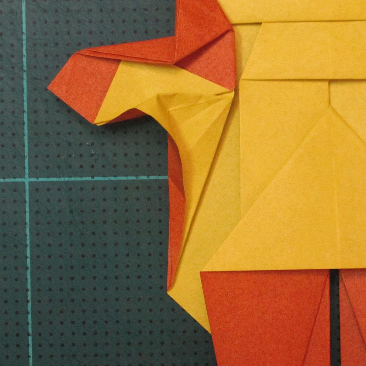 การพับกระดาษเป็นรูปปลาคาร์ฟ (Origami Koi Fish) 027