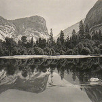 GC290 Harry Fenn; Mirror Lake, Yosemite Valley; 1872; Engraving - From The Graham and Barbara Curtis Collection