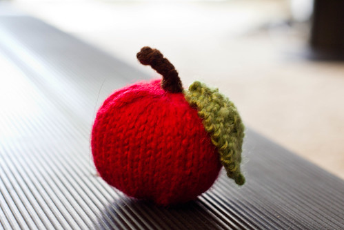 Knit Red Apple