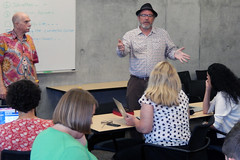 Digital Media & Learning Research Hub posted a photo: Day 3: #ConnectedCourses Workshop UC Irvine July 17, 2014Day 3: #ConnectedCourses Workshop UC Irvine July 17, 2014