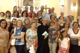 Noicattaro. Anniversario sacerdozio don Nicola Rotundo front