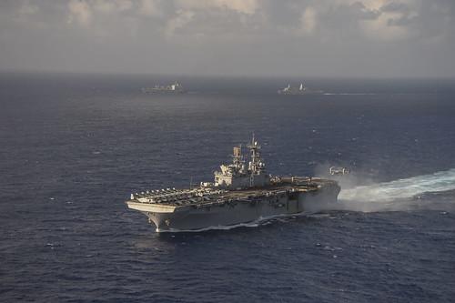 USS Makin Island Visits Hong Kong