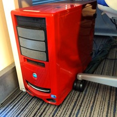 If you put a #red case on your #PC, will it go faster?