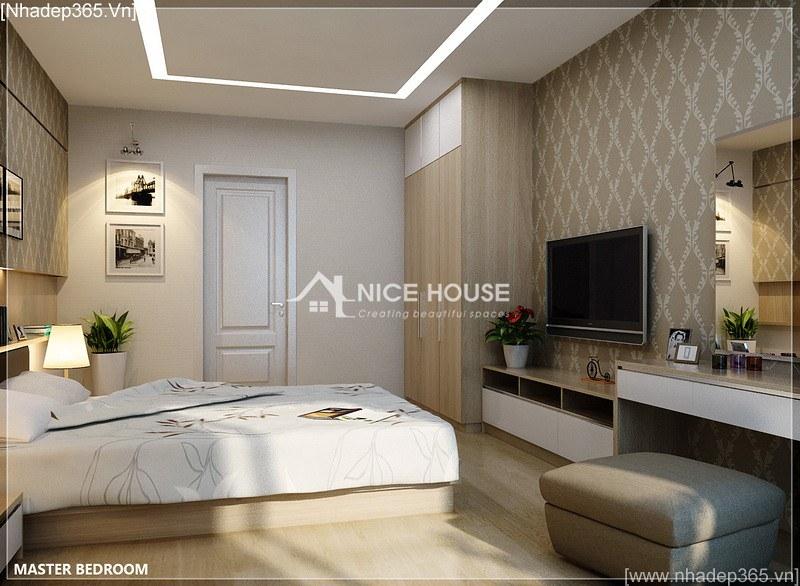 Thiết kế nội thất căn hộ nhà cô Hằng - HN_02