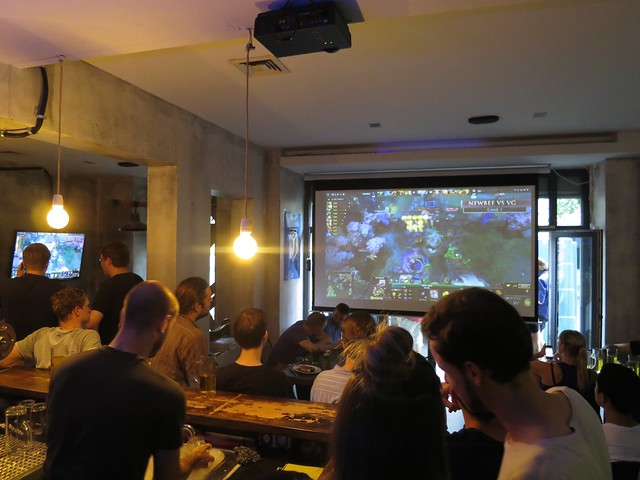 Full house for the TI final