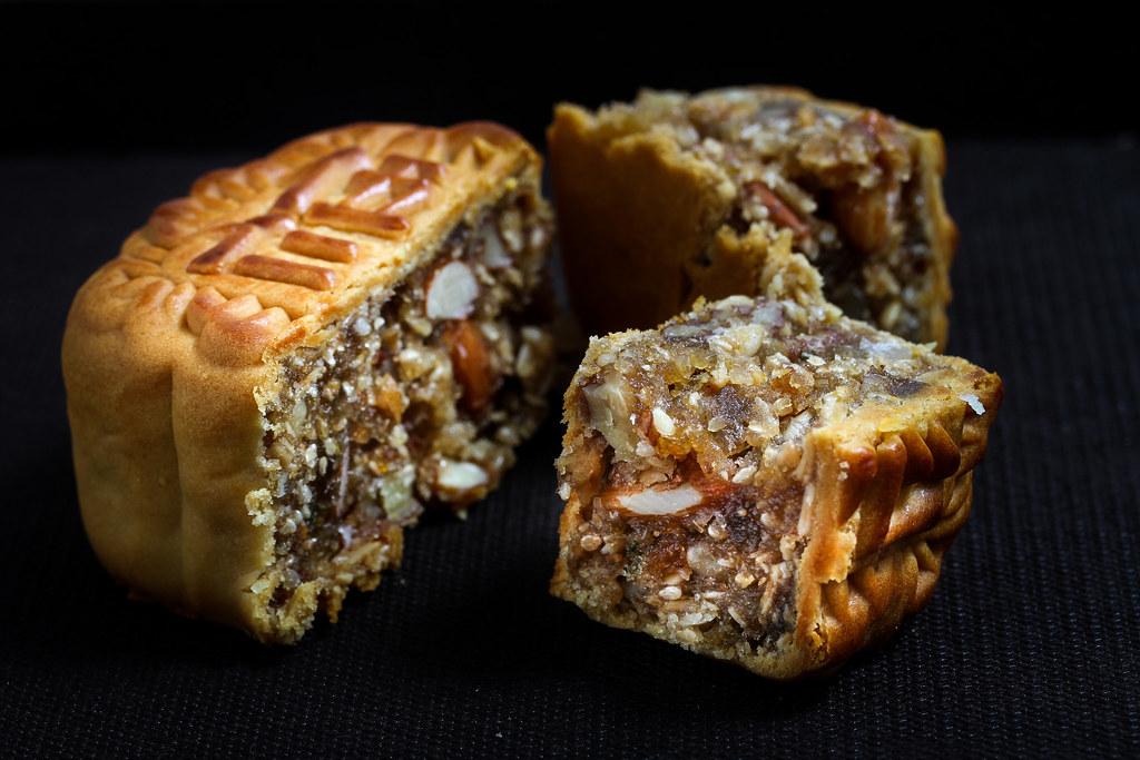 Mei Xin Mooncake: Mixed Nuts Mooncake