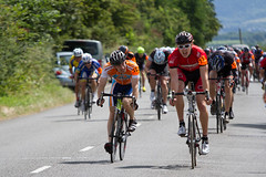 Ryan Witchell, University of Bristol, wins ahead of David Emms, Didcot Phoenix