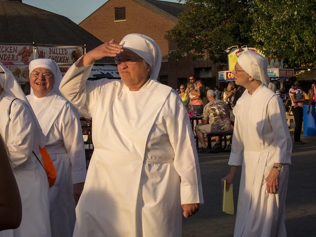 Nuns at the fair