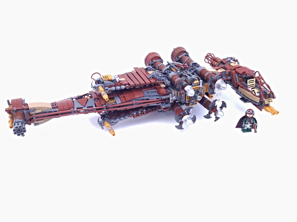Steampunk B-Wing, by markus1984