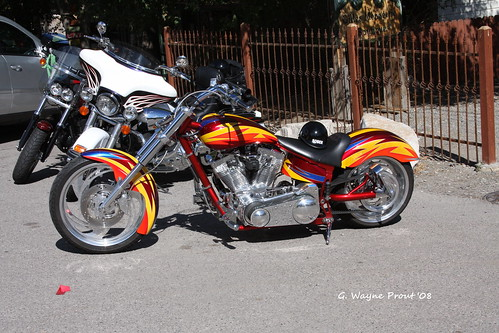 Custom Built Motorcycle - Genoa Nevada U.S.A.