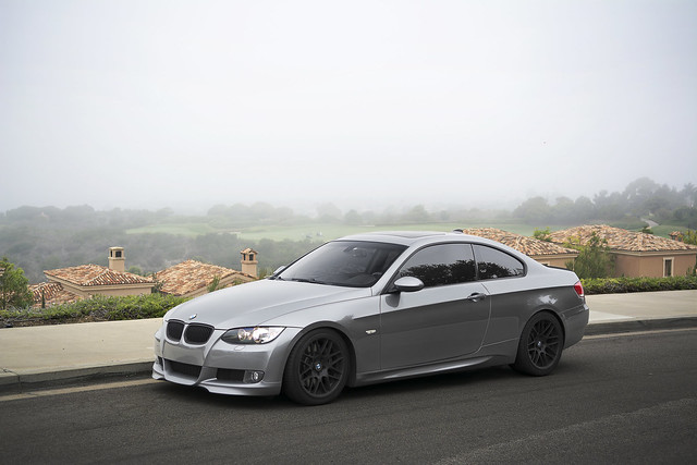 Charcoal Gray BMW 335i