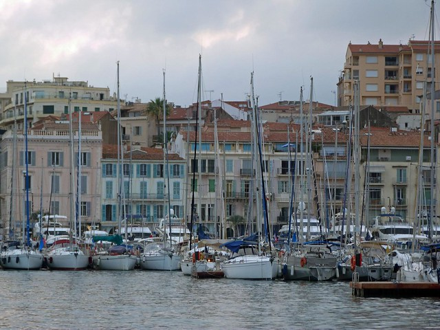 Vieux port de Cannes (Costa Azul, Francia)