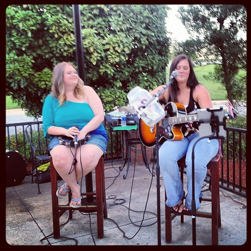 Brittany and Tessa #livemusic #oklahomalivemusic