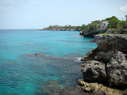 View looking north from South Negril Point - Aug. 14th