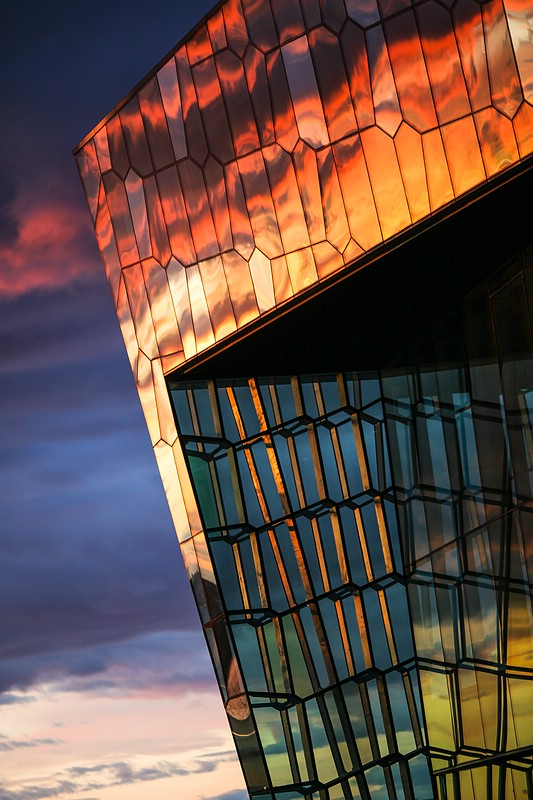 Edge of Harpa concert hall