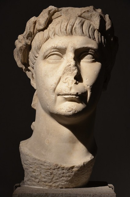 Portrait head of Trajan, from Piraeus, dating to the final years of his reign, Piraeus Archaeological Museum