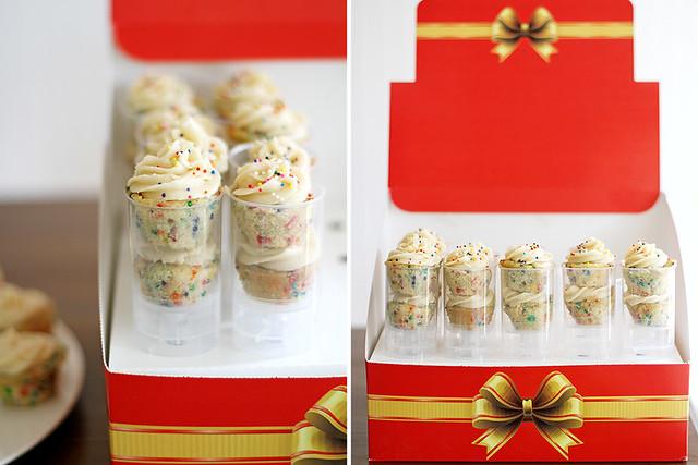 Mini Brown Butter Funfetti Cupcakes + a Push Pop giveaway! | girlversusdough.com