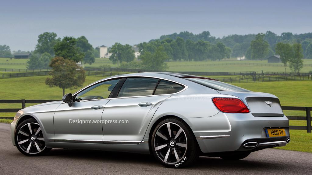 Bentley four-door Coupe | RM.Design Blog
