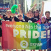 Oxfam staff, campus leaders and supporters came together on Sunday, August 24, 2014 to march in the Ottawa Pride parade and show their support for Oxfam's work and solidarity with our LGBTI partners from around the world.  The parade attracted more than 75,000 people and ran the length of Ottawa's LGBT Village and ended at Ottawa City Hall.