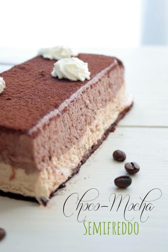 semifreddo caffè e cioccolato su base di biscotto al cacao e nuova grafica!