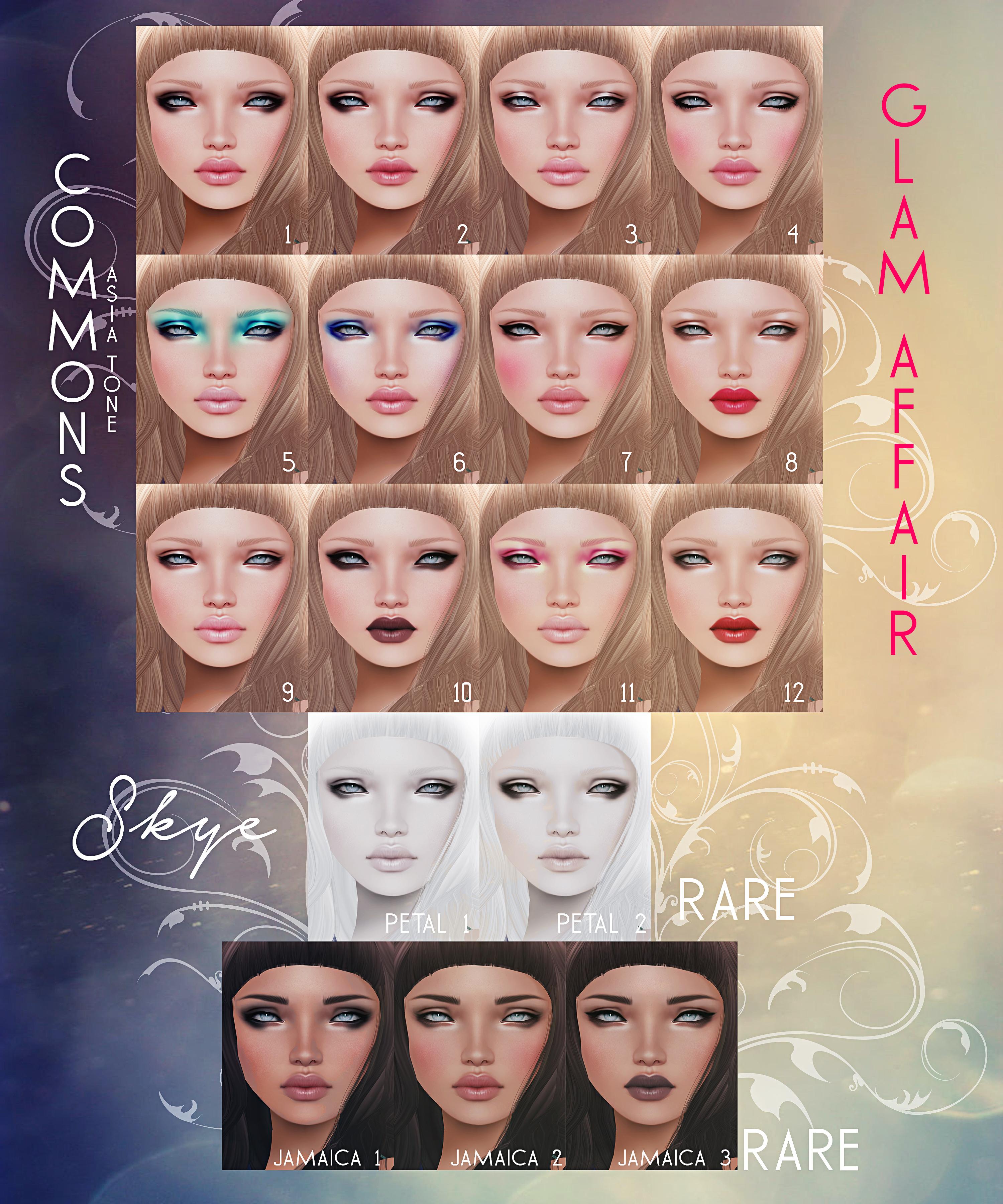 -Glam Affair - Skye skin - Arcade Gacha Event