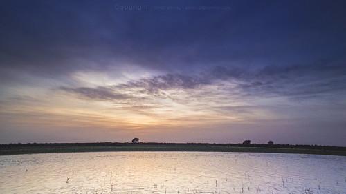 sunset nature clouds river landscape sudan nile khartoum