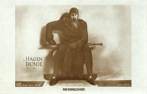 Hans Adalbert Schlettow in Die Nibelungen
