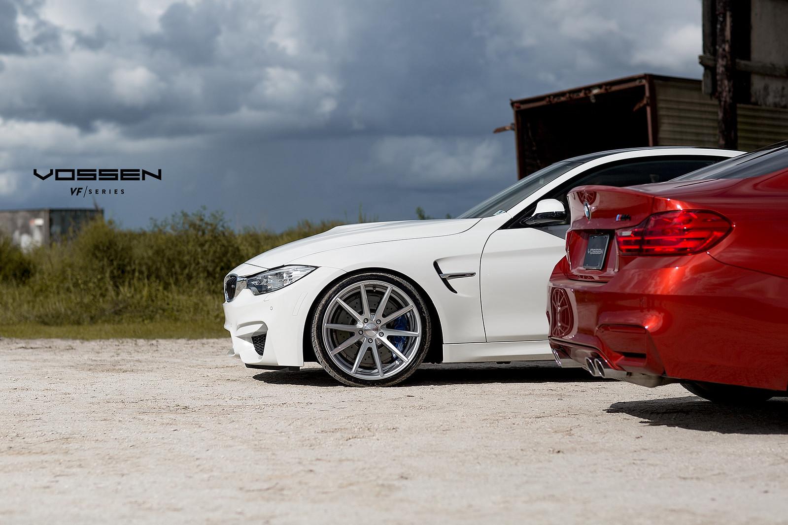 BMW M4 on Vossen wheels