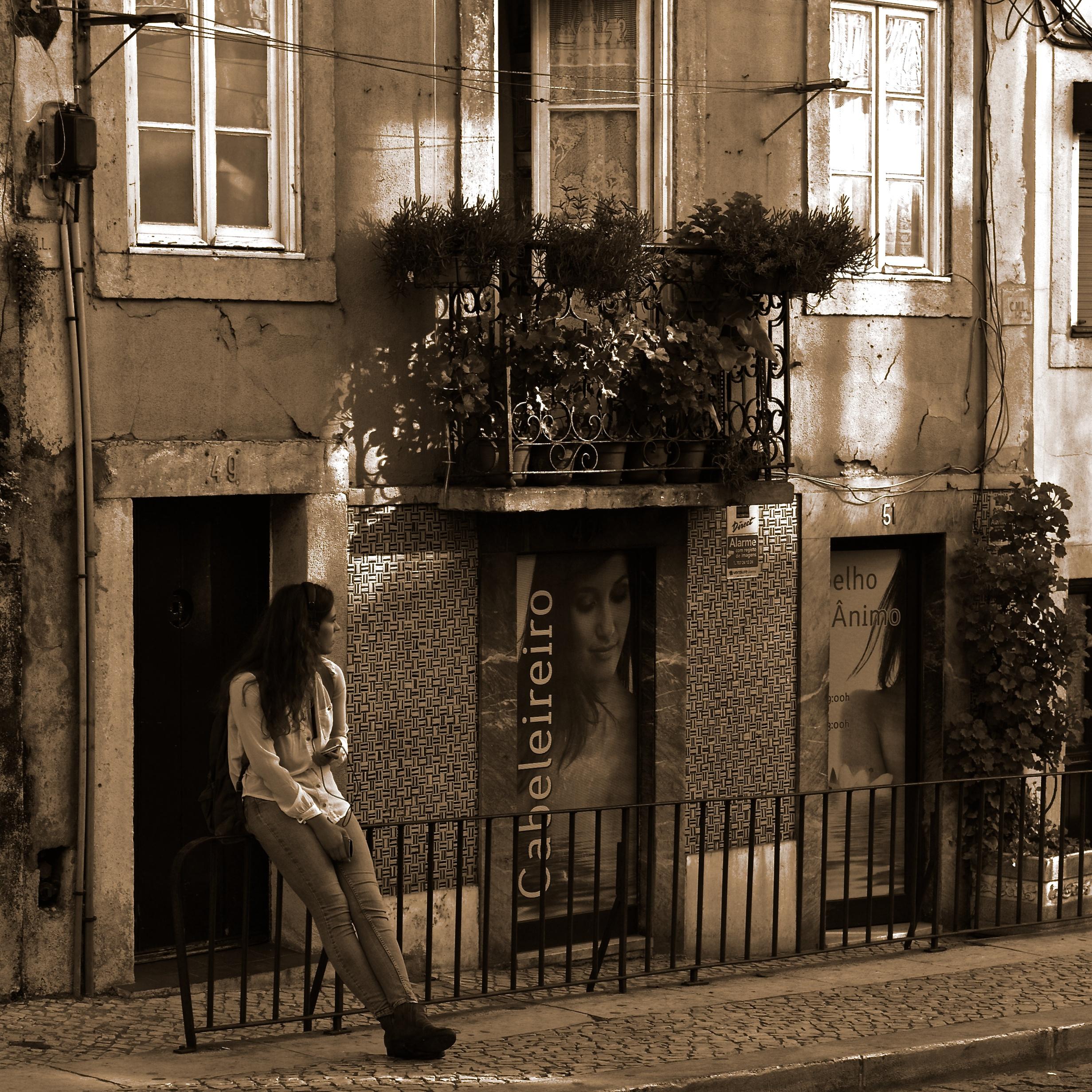 #281E14 Waiting Av.das Janelas Verdes Lisbon Portugal By: pedrosimoes7  702 Janelas Verdes Lisbon