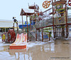 Kalahari Wisconsin Dells outdoor waterpark
