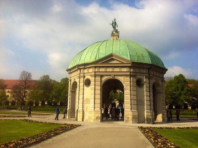 Hofgarten dome, Munich, Germany