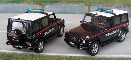 Autoparco Mercedes G-Wagon Carabinieri-Tuscania Iraq Nassirya