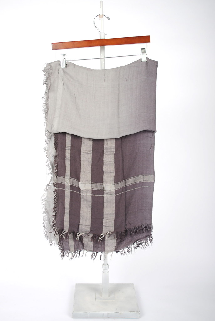 Charcoal Ombre Scarf