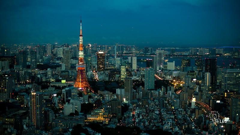 [東京 六本木]–六本木的日與夜(下)–東京最強夜景tokyo city view
