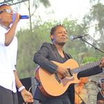 Amani Festival 2014 - Lokua invite Innoss'B sur scène