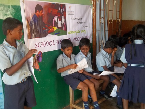 school health program india